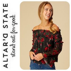 Altar'd State Madero Top, M - NWT